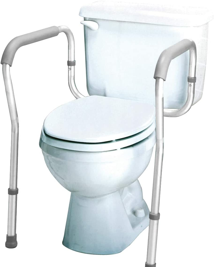 Carex Toilet Safety Frame, How To Install Handicap Bathroom Rails For Grab Bars